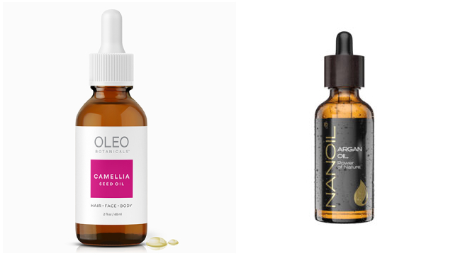 camellia oil argan oil